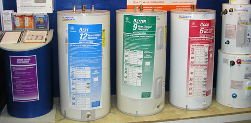 choosing the right water heater for your home or business